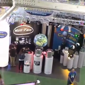 Tradeshow Video - Can-Filters booth at the Indoor Gardening Expo in San Fransisco