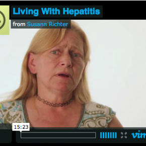 """Living With Hepatitis"" Video shoot for Pacific Hepatitis C Network"