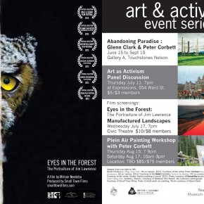 Nelson Premiere - Eyes in the Forest: The Portraiture of Jim Lawrence